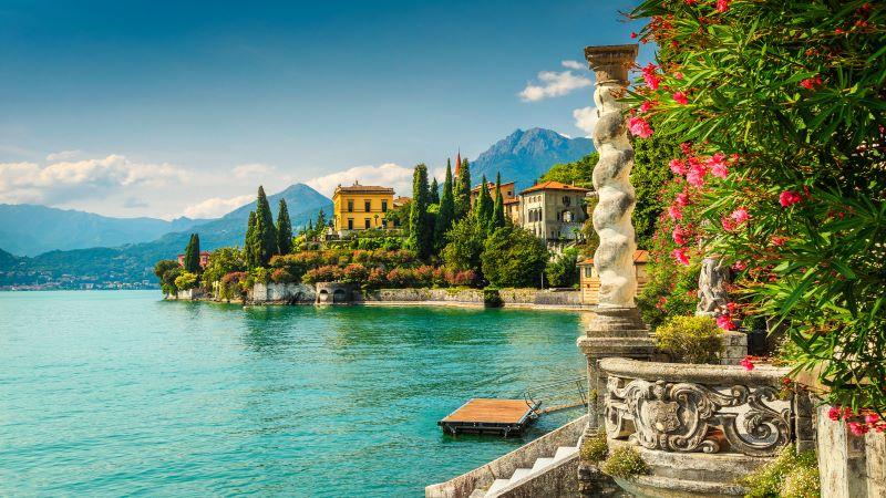 Italiens vackraste sjöar