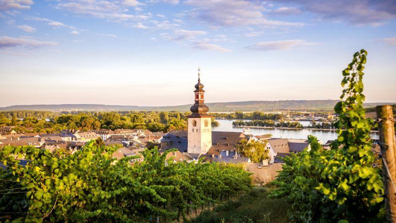 Rüdesheim – Vinstaden vid floden Rhen