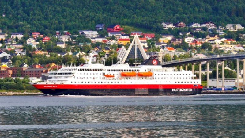 Hurtigruten Tromsö till Trondheim